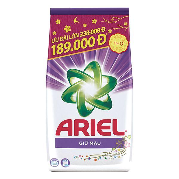 Bột Giặt Ariel Tết Giữ Màu Quần Áo Túi 5kg