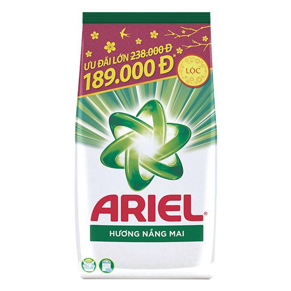 Bột Giặt Ariel Tết Hương Nắng Mai Túi 5kg