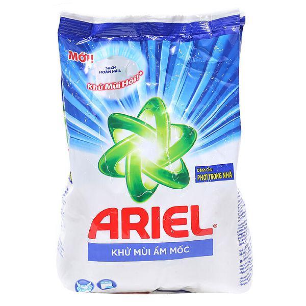 Bột Giặt Ariel Khử Mùi Ẩm Mốc Bịch 650G