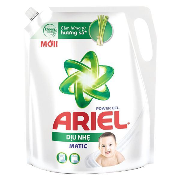 Nước Giặt Ariel Matic Dịu Nhẹ Túi 2.15Kg