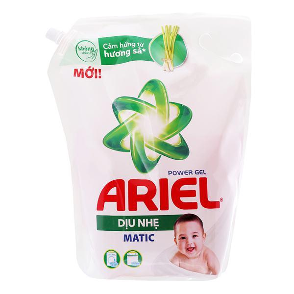 Nước Giặt Ariel Dịu Nhẹ Túi 3.25Kg