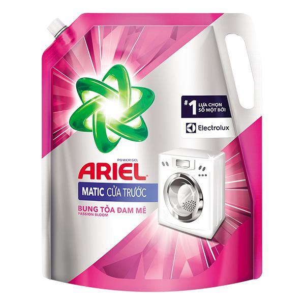 Nước Giặt Ariel Cửa Trước Đam Mê Túi 2.15Kg