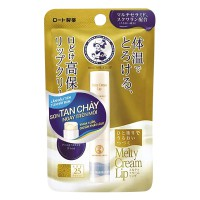 Son Dưỡng Môi Rohto Melty Cream Lip Chống Nắng Không Mùi SPF25 2.4G