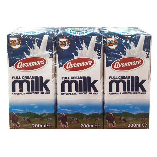 Lốc 3 Sữa Tươi Tiệt Trùng Avonmore Nguyên Chất 200Ml