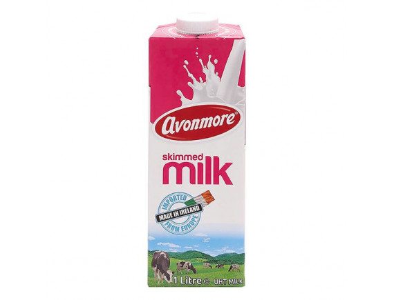 Sữa Tươi Tiệt Trùng Avonmore Không Béo Hộp Giấy 1L