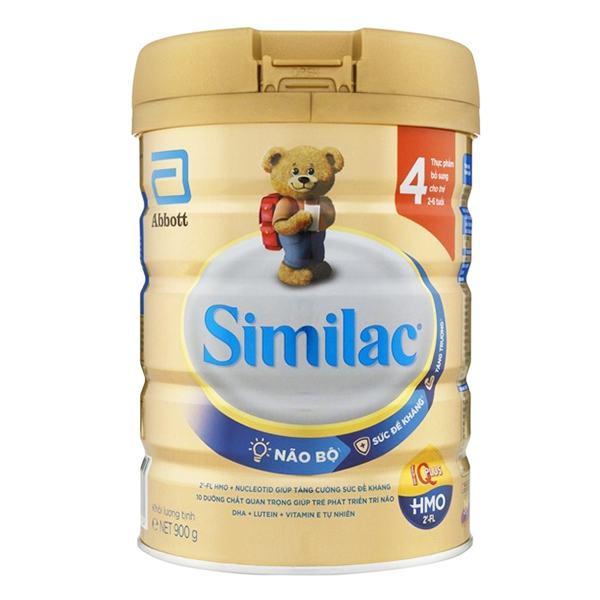Sữa Similac IQ 4 Gold Hương Vani Hộp 900G