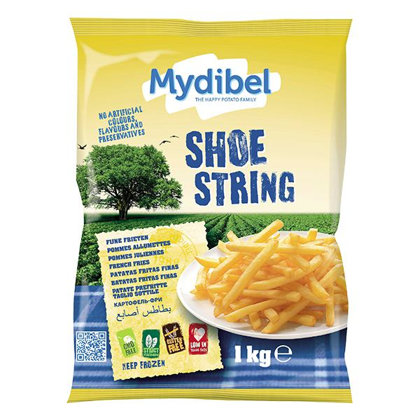 Khoai Tây Đông Lạnh Mydibel Shoe String Gói 1Kg