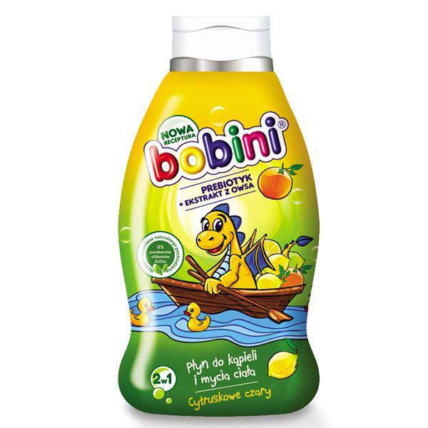 Tắm Gội Bobini Trẻ Em - Hương Cam Quýt 660Ml