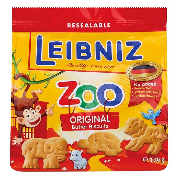 Bánh Quy Bahlsen Zoo Bơ 100G