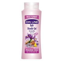 Sữa Tắm On Line 2IN1 Absolute Relax Hương Hoa Iris & Dầu Hạnh Nhân 750Ml