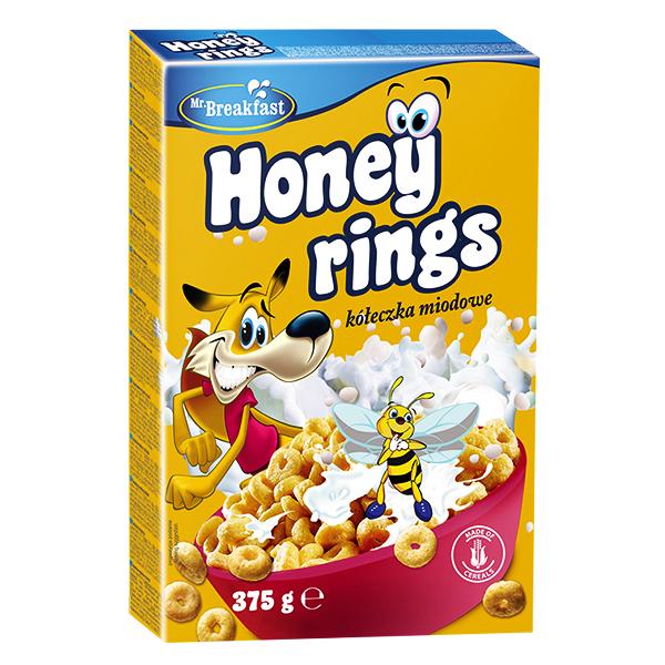 Bánh Ngũ Cốc Bakalland Honey Rings 375G