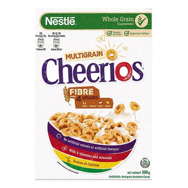 Bánh Ăn Sáng Nestle Cheerios Hộp 300G