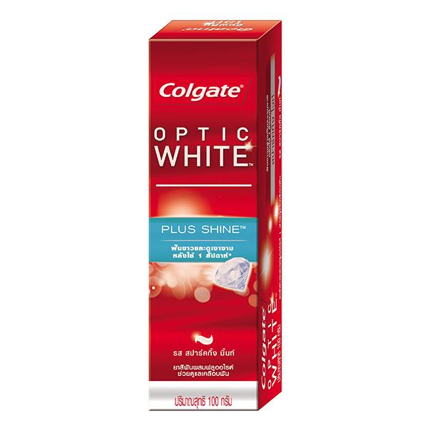 Kem Đánh Răng Colgate Optic White Plus Trắng Sáng 100G