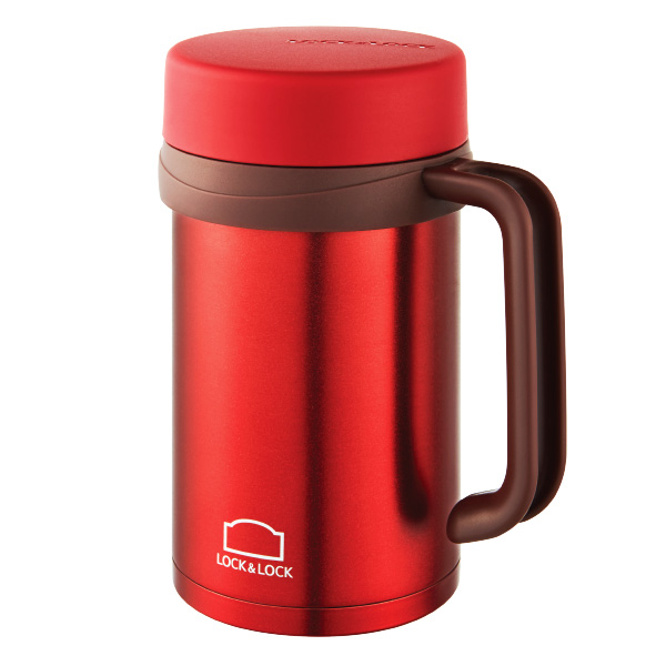 Ca Giữ Nhiệt Basic Table Mug Lock&Lock LHC9002RR 500Ml