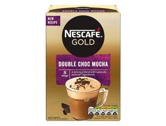 Cà Phê Nescafe Gold Double Choc Mocha 8 Gói*15.5G