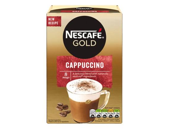 Cà Phê Nescafe Gold Cappuccino 8 Gói*15.5G