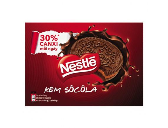 Bánh Quy Nestle Kem Socola 372G