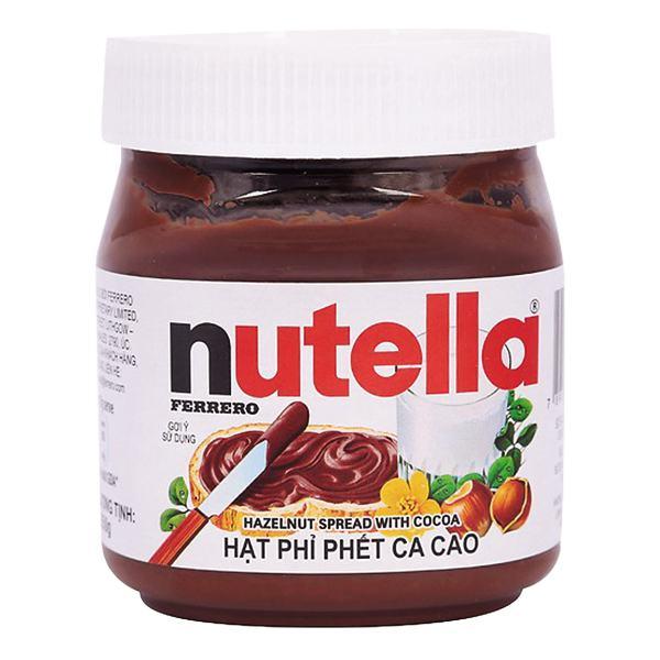 Bơ Hạt Phỉ Phết Cacao Nutella 350G