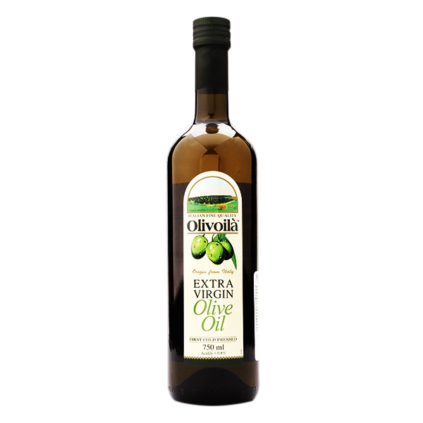 Dầu Olive Extra Virgin Olivoila 750Ml
