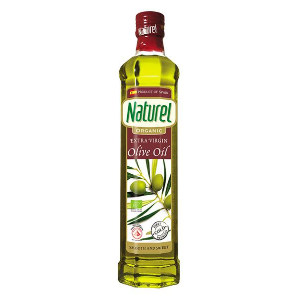 Dầu Olive Naturel Organic Vingin 500Ml