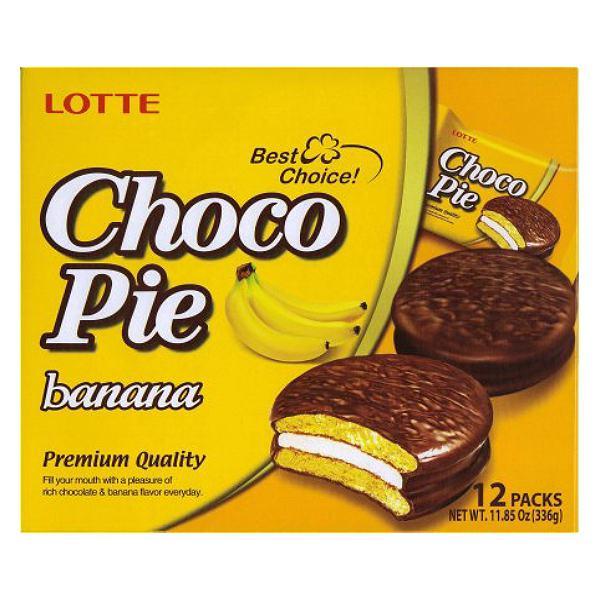 Bánh Lotte Choco Pie Chuối 336G