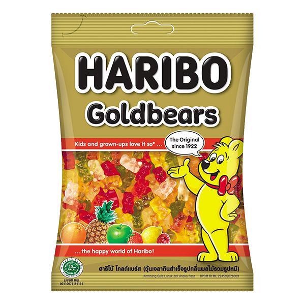 Kẹo Dẻo Haribo Goldbears Gói 200G