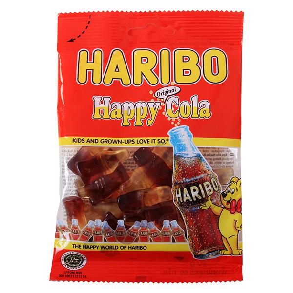 Kẹo Dẻo Haribo Happy Cola Gói 80G