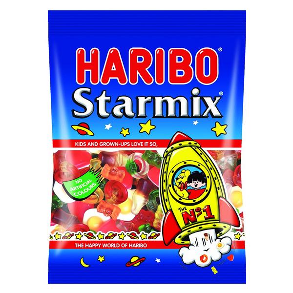 Kẹo Dẻo Haribo Starmix Gói 80G