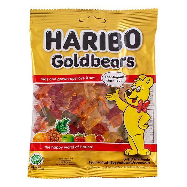 Kẹo Dẻo Haribo Goldbears Gói 160G