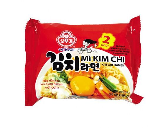 Mì Ottogi Kim Chi 2 Phút Gói 108G