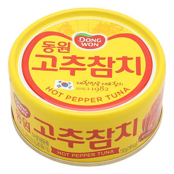 Cá Ngừ Vị Ớt Cay Dongwon Hộp 100G