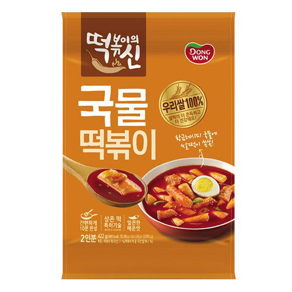 Bánh Gạo Dongwon Sốt Cay Gói 422G
