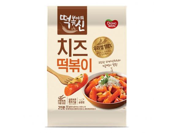 Bánh Gạo Phô Mai Cay Tteokbokki Dongwon Gói 332G