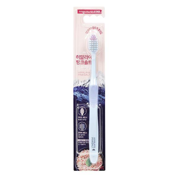Bàn Chải Đánh Răng Bamboo Himalaya Pink Salt Mềm Mại