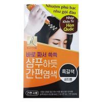 Thuốc Nhuộm Phủ Bạc Elastine Natural Black 60G