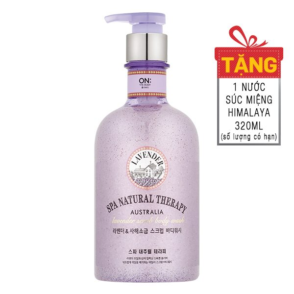 Sữa Tắm On The Body Natural Spa Lavender 600G