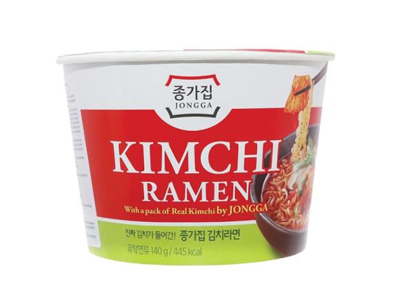 Mì Tô Jongga Kim Chi Ramen 140G
