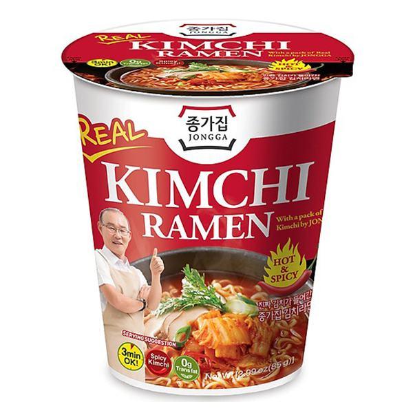 Mì Kimchi Ramen Jongga Ly 85G