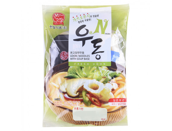 Mì Udon Nguyên Vị Hanil Food Gói 225G