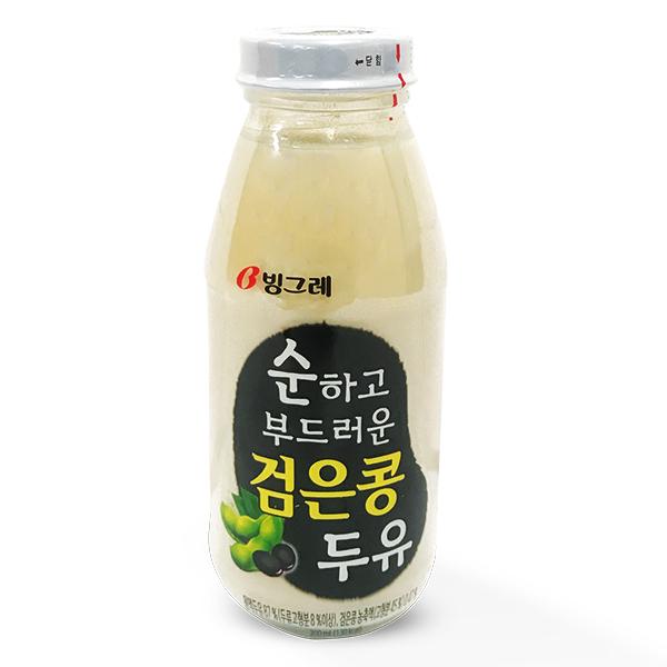 Sữa Đậu Nành Binggrae Đậu Đen Chai 200Ml