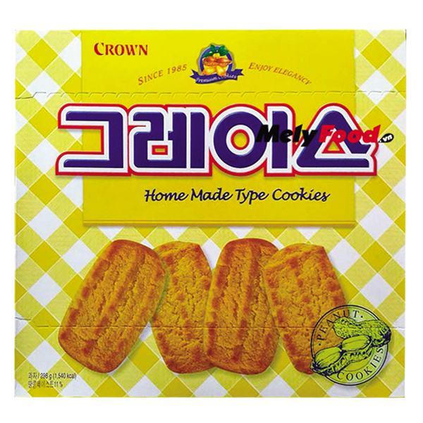 Bánh Quy Crown Bơ Đậu Phộng 298G