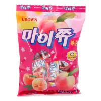 Kẹo Crown My Chew Đào 92G