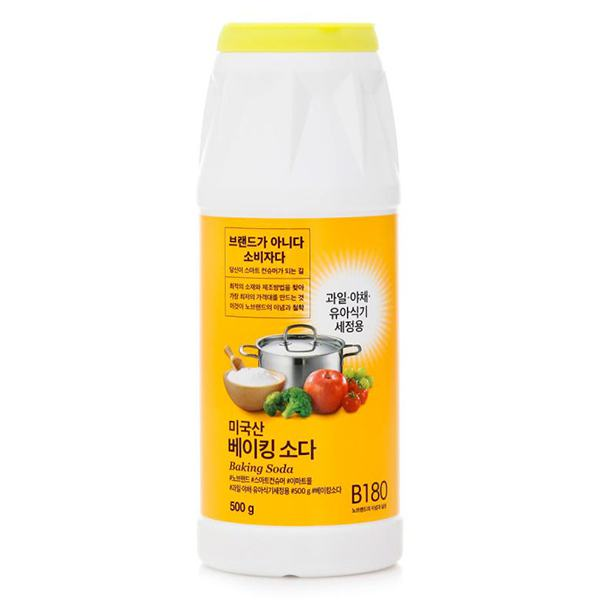 Bột Baking Soda No Brand Chai 500G