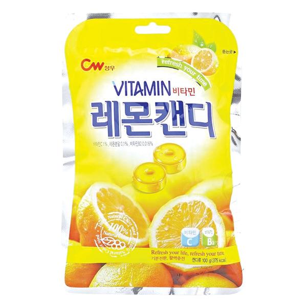 Kẹo Cứng CW Vitamin Chanh 100G