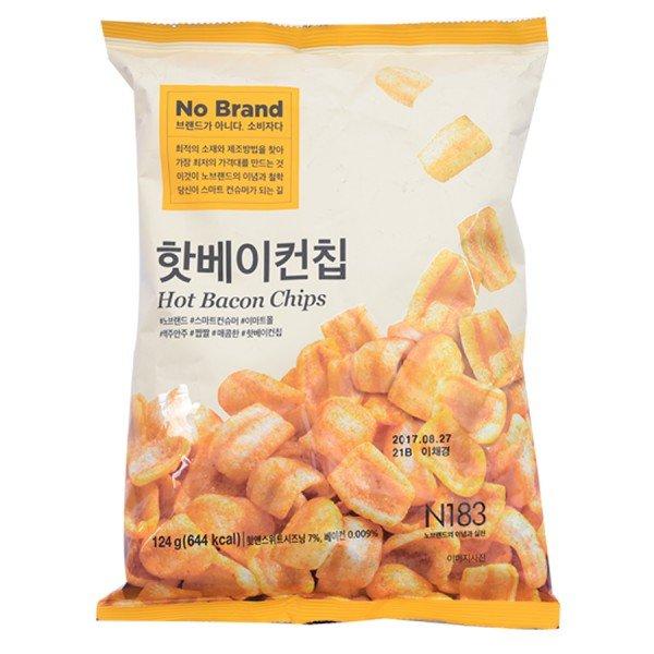 Snack Thịt Xông Khói No Brand 124G