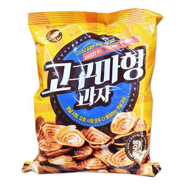 Snack Khoai Lang No Brand Hình Xoắn Ốc Gói 200G