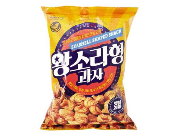 Snack Khoai Lang No Brand Hình Vỏ Sò Gói 200G