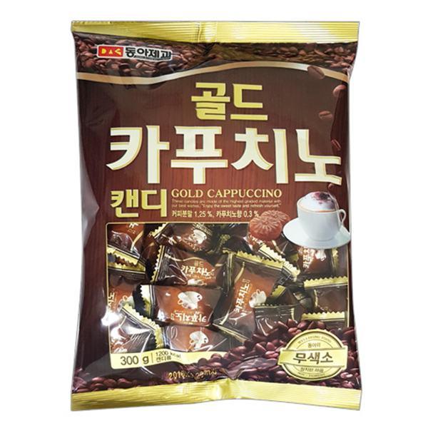 Kẹo Cứng Donga Vị Cà Phê Cappuccino Gói 300G