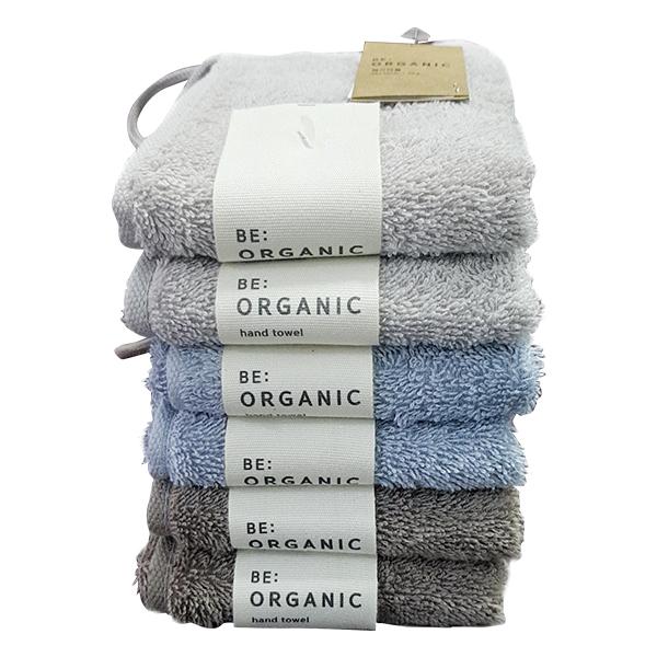 Khăn Cotton Be Organic Màu Xám Xanh 30*30Cm