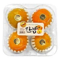 Hồng Xuất Xứ Hàn Quốc Hộp 4 Trái